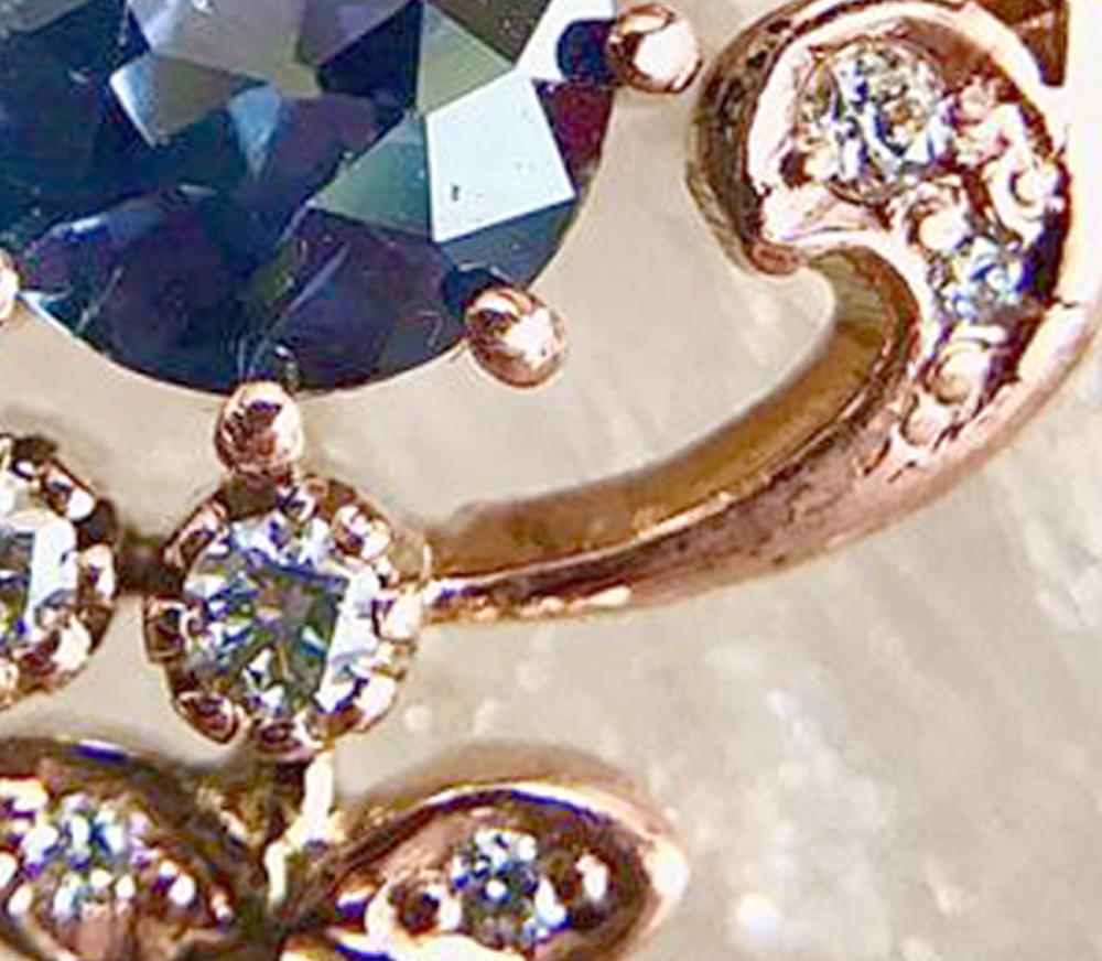 salies-jewellery-Royal Blue Sapphire Pendent