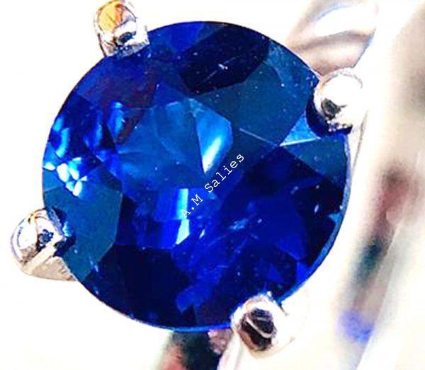 Salies-jewellery- Rose Padperajah sapphire Ring