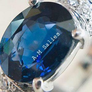 Salies-Jewellery-Royal Blue Sapphire Ring