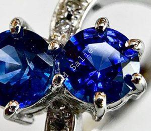 Salies-jewellery - Royal Blue Sapphire ring