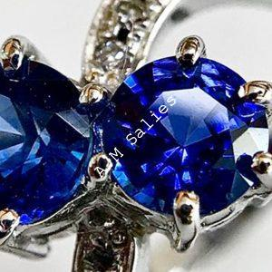 Salies-jewellery – Royal Blue Sapphire ring