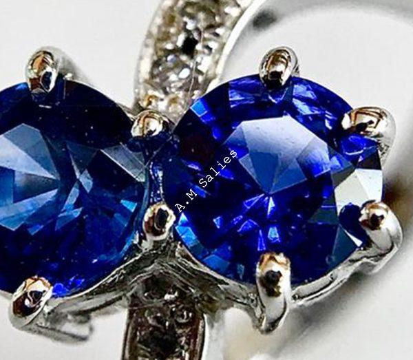 Salies-jewellery - Royal Blue Sapphire ring