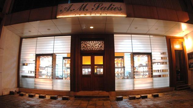 Salies Jewellery Store front Colombo Sri Lanka