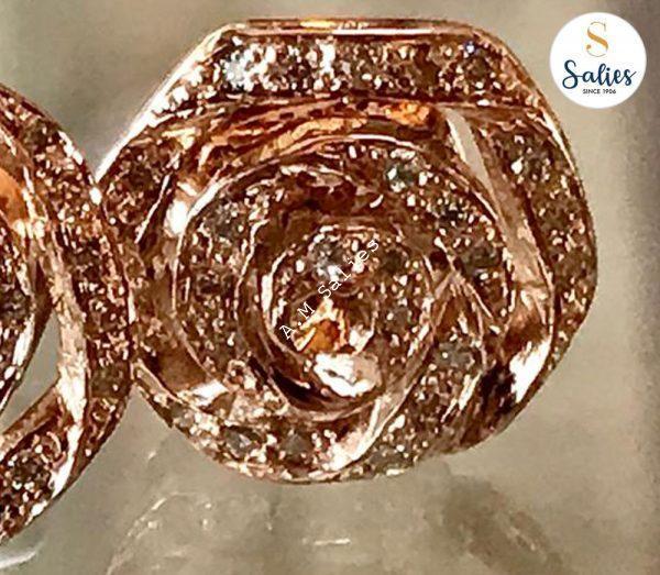 All Rose and Diamond earrings