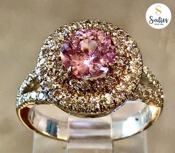 All Rose and Diamonds ring