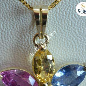 Bespoke-necklace-with-natural-sonesBespoke ( custom made) Necklace and pendant with stones
