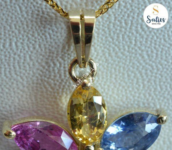 Bespoke ( custom made) Necklace and pendant with stones