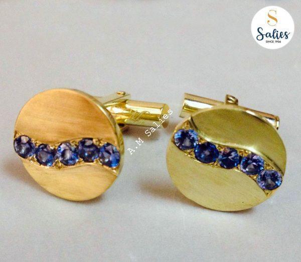 Sapphire Cufflinks