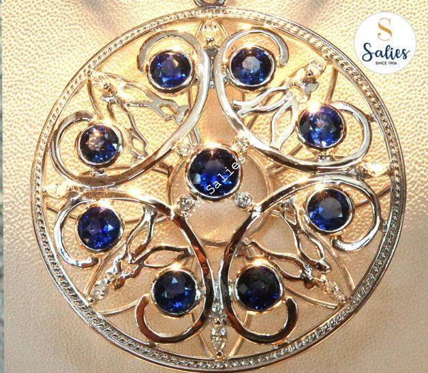 Traditional craftsmanship in a modern out looking pendant