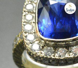 Jewellery designed by client completed to perfection Salies jewelery.