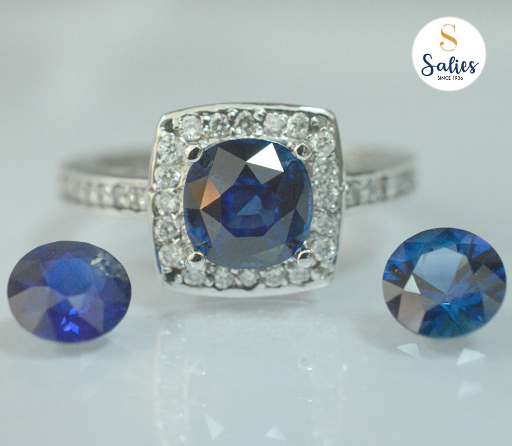 Bespoke Jewelry - From a carefully selected beautiful sapphire to completed bespoke design