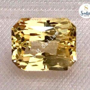3.03 cts Natural Unheated Yellow sapphire
